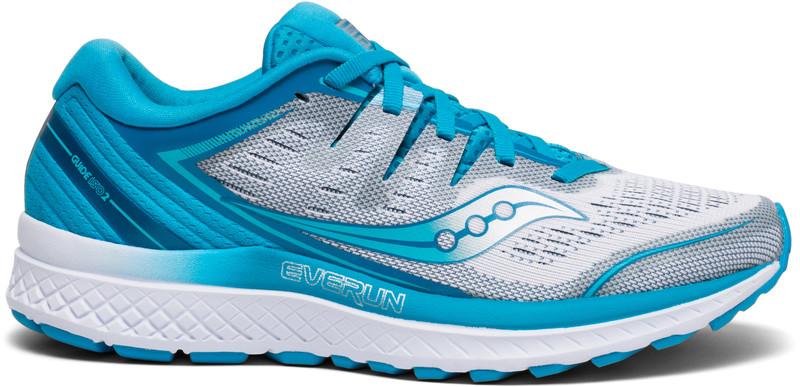 saucony Guide ISO 2 Naiset Juoksukengät , sininen/valkoinen