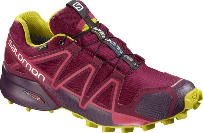 Salomon Speedcross 4 GTX Naiset Juoksukengät , punainen