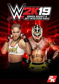 WWE 2K19 - Ronda and Rey Pack, PC -peli