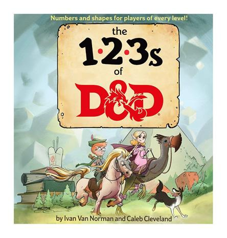 Dungeons & Dragons - The 123's of D&D (WTCC6118)