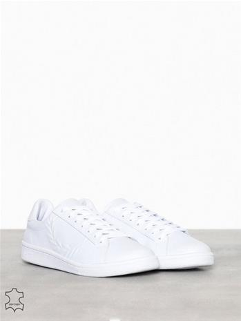 Fred Perry B5150 Leather Tennarit & kangaskengät White