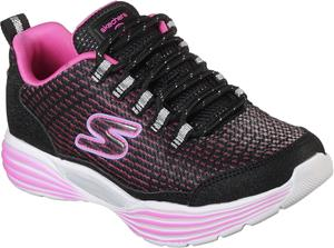 Skechers Hidden Lights Lenkkarit, Black/Pink 33