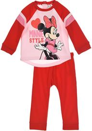 Disney Minni Hiiri Paita & Housut, Red 12 kk