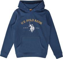 US Polo Assn. USPA OTH Hoodie Huppari, Estate Blue 7-8 Vuotta