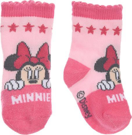 Disney Minni Hiiri Sukkia, Dark Pink 6-12 kuukautta