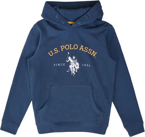 US Polo Assn. USPA OTH Hoodie Huppari, Estate Blue 6-7 Vuotta