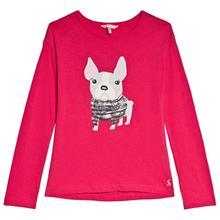 Raya Paljetti Mopsi T-paita Vaaleanpunainen6 years