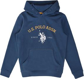 US Polo Assn. USPA OTH Hoodie Huppari, Estate Blue 10-11 Vuotta