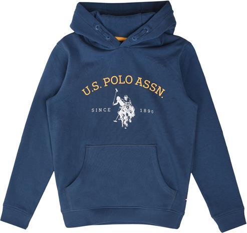 US Polo Assn. USPA OTH Hoodie Huppari, Estate Blue 5-6 Vuotta
