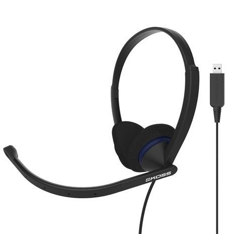 Koss CS200 (USB), kuulokkeet mikrofonilla