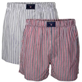 Gant 2 pakkaus Stripe Woven Boxer Shorts * Ilmainen Toimitus *