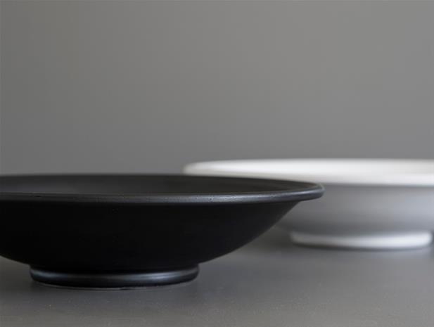 DBKD Plain Tarjoiluvati Medium 35 cm Valkoinen