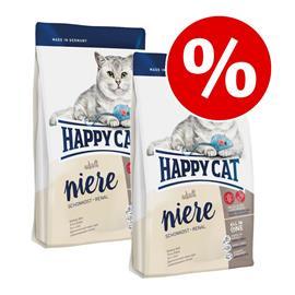 Happy Cat -säästöpakkaus 2 x 1,4 kg - Indoor Adult Beef