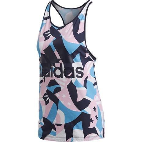 Adidas W SID TANK AOP WHITE/PINK/PRINTED