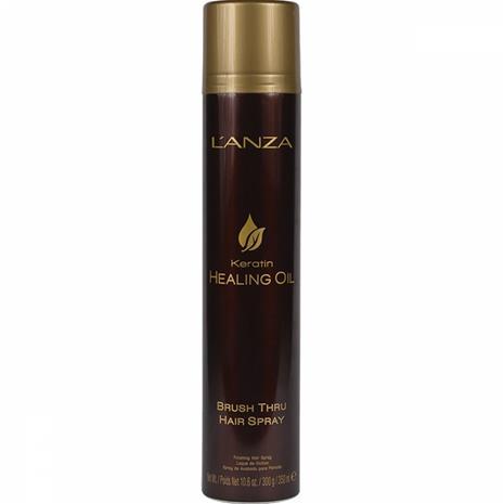 Lanza Keratin Healing Oil Brush Thru Hair Spray (350ml)