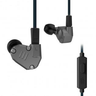 KZ ZS6 Hybridi, nappikuulokkeet mikrofonilla