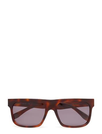 Alexander McQueen Eyewear Am0037s Ruskea