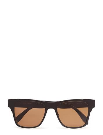 Alexander McQueen Eyewear Am0011s Musta
