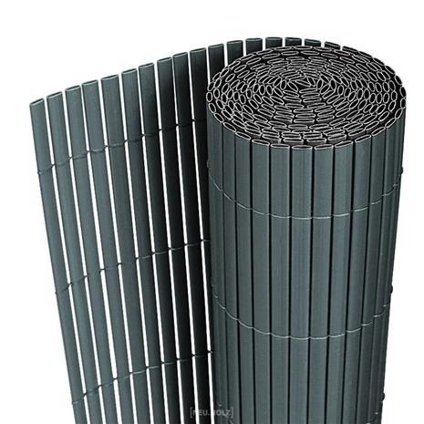 [neu.hauz]® Aita - PVC -muovista tehty, auringon- ja tuulensuoja - harmaa - 3m x 0,9m