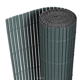 [neu.hauz]® Aita - PVC -muovista tehty, auringon- ja tuulensuoja - harmaa - 3m x 1,5m