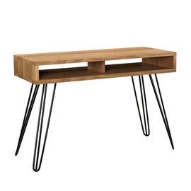 [en.casa]® Design kirjoituspöytä säilytystilalla - 110cm x 45cm x 75cm