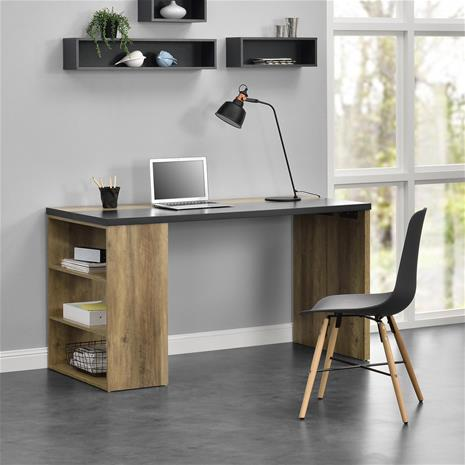 [en.casa]® Design kirjoituspöytä-140x68x77cm