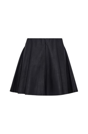 "Only ""OnlBase Neoline Faux Leather Skirt -hame"""