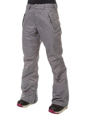 Light Yoko Pants grey heather Naiset
