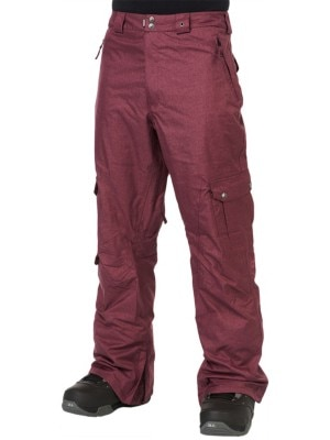 Light Cern Pants burgundy Miehet