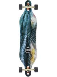 "Nice Skateboards Wanderer 40"""" X 9.5"""" Complete multicolour"