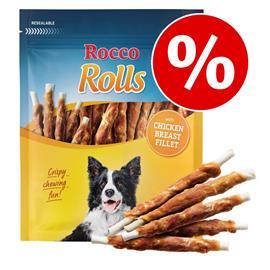 Rocco Rolls -säästöpakkaus - kala 12 x 200 g