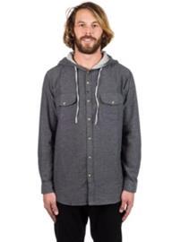 Imperial Motion Eugene Hooded Shirt LS black Miehet