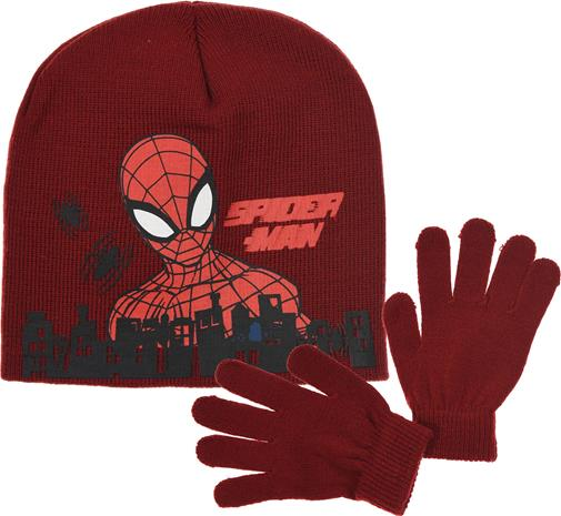 Marvel Spider-Man Pipo & Käsineet, Tummanpunainen 54