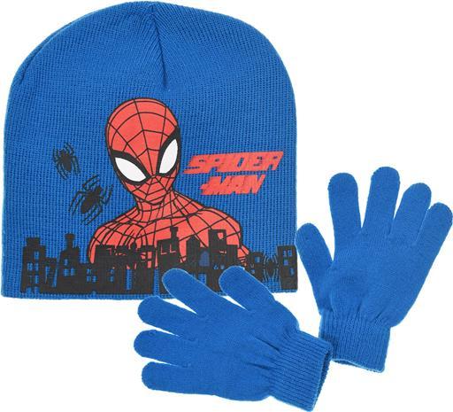 Marvel Spider-Man Pipo & Käsineet, Sininen 54