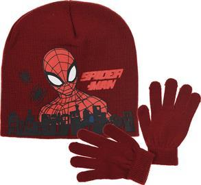 Marvel Spider-Man Pipo & Käsineet, Tummanpunainen 52