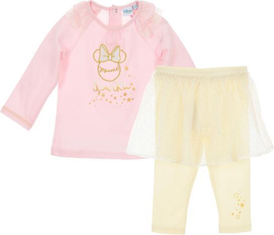 Disney Minni Hiiri Paita & Hameleggingsit, Light Pink 36 kk