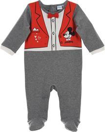 Disney Mikki Hiiri Haalaripyjama, Dark Grey 0 kk
