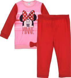 Disney Minni Hiiri T-Paita & Leggingsit, Pink 6 kk
