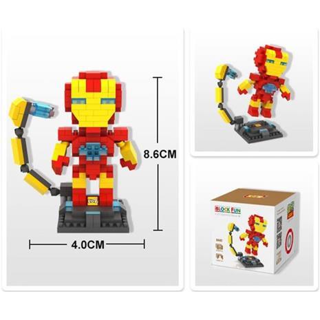eStore Iron Man - 3D Puzzle | Superhero Limited Collection