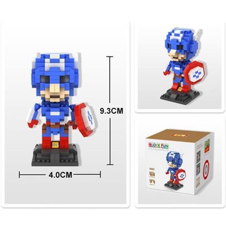 eStore Captain America - 3D Puzzle | Superhero Limited Collection