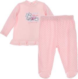 Disney Minni Hiiri Paita & Housut, Light Pink 0 kk