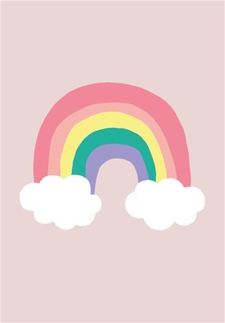 POPP Juliste 21x30, Rainbow