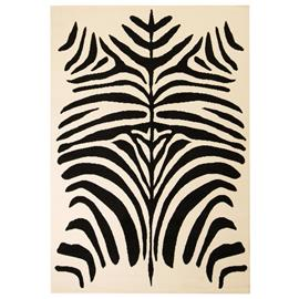 vidaXL Moderni matto seeprakuvio 160x230 cm beige/musta