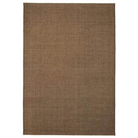 vidaXL Sisaltyylinen matto sisä-/ulkotiloihin 140x200 cm ruskea