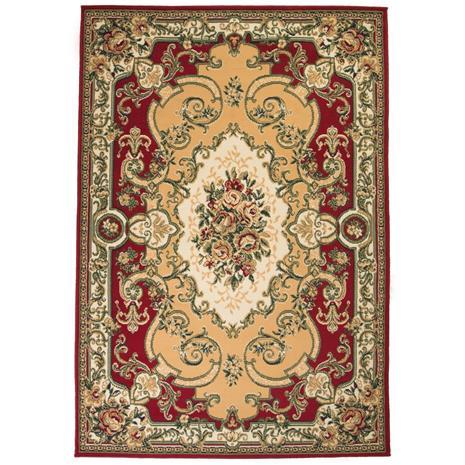 vidaXL Itämainen matto Persialainen tyyli 120x170 cm punainen/beige