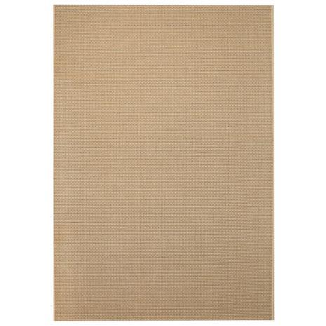vidaXL Sisaltyylinen matto sisä-/ulkotiloihin 120x170 cm beige