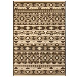 vidaXL Sisaltyylinen matto sisä-/ulkotiloihin 140x200 cm etninen kuvio