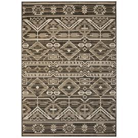 vidaXL Sisaltyylinen matto sisä-/ulkotiloihin 140x200 cm geometrinen