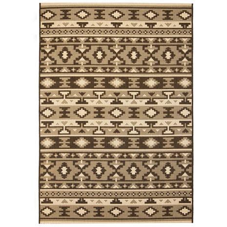 vidaXL Sisaltyylinen matto sisä-/ulkotiloihin 120x170 cm etninen kuvio