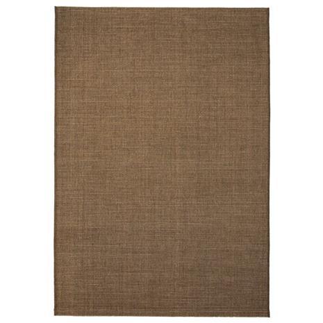 vidaXL Sisaltyylinen matto sisä-/ulkotiloihin 80x150 cm ruskea